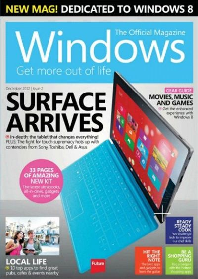 Windows The Official Magazine – декабрь 2012 (UK)