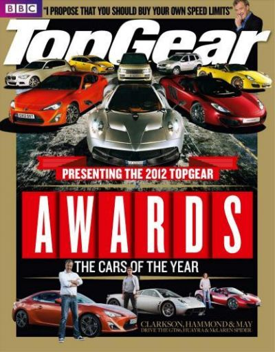 BBC Top Gear Magazine UK – Awards дека