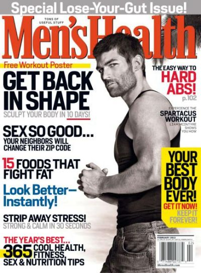 Men's Health USA январь/ фвраль 2013