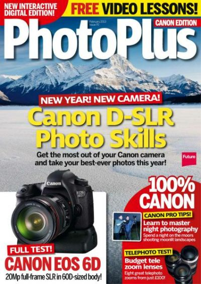 PhotoPlus: The Canon Magazine - февраль 2013