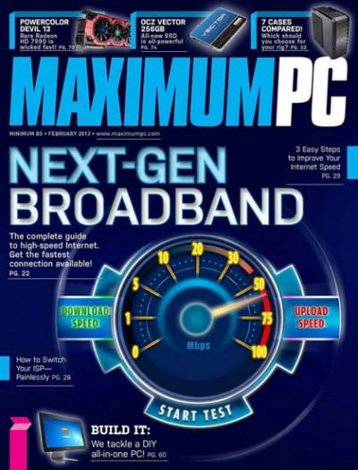 Maximum PC – февраль 2013