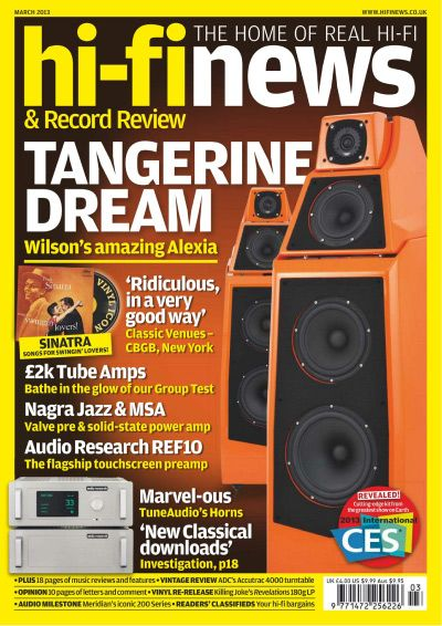 Hi-Fi News & Record Review - март 2013