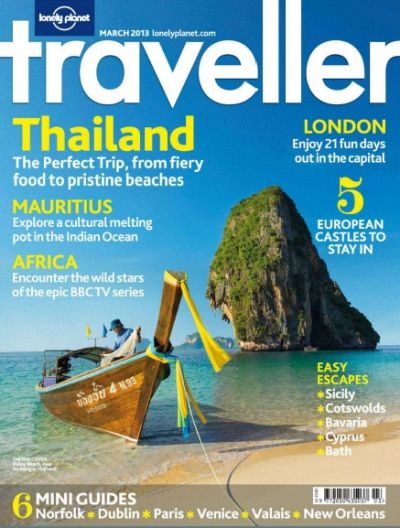 Lonely Planet Traveller UK - март 2013