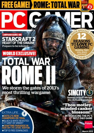 PC Gamer UK – март 2013
