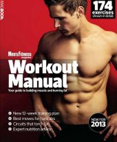 Men's Fitness Workout Manual – март