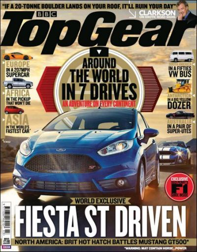 BBC Top Gear Magazine UK – март 2013