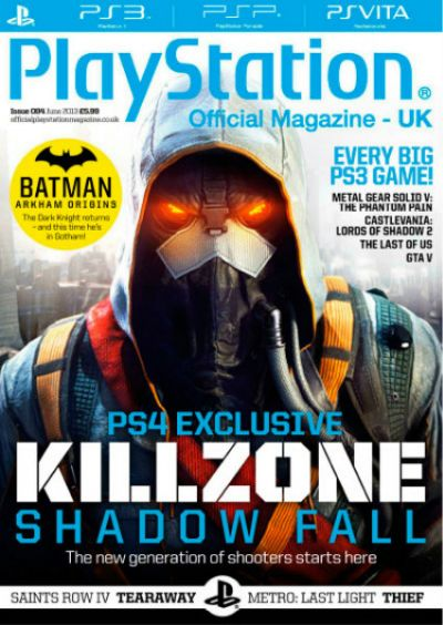 PlayStation Official Magazine UK - июнь 2013