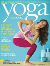 Yoga Journal USA – июль/август 2013