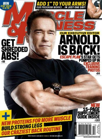 Muscle & Fitness – октябрь 2013