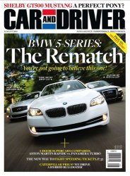 Car and Driver - August