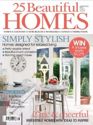 25 Beautiful Homes - August