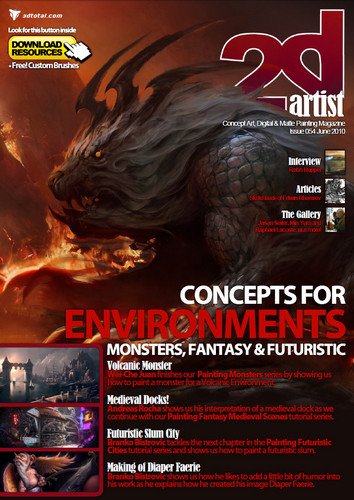 2DArtist - June 2010 (Issue 54)