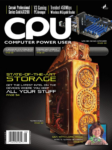 Computer Power User (CPU) - August 2010