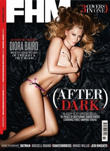 Diora Baird, Natasha Alam, Christian Serratos (FHM 11 2010 / UK)