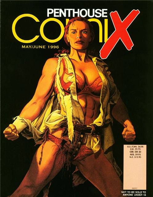 Penthouse ComiX - May/June (1996)