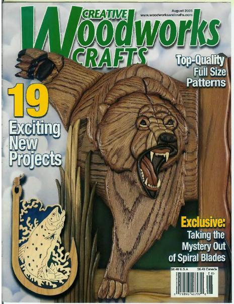 Creative Woodworks & Crafts №8, 2005