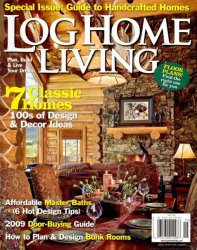 Log Home Living - May