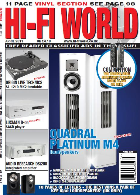 Hi-Fi World - April 2011