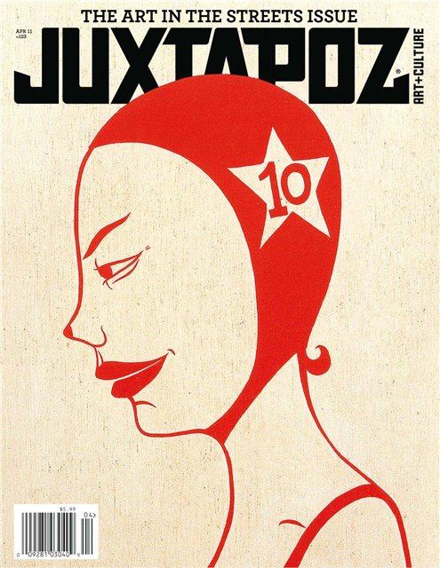 Juxtapoz - April 2011