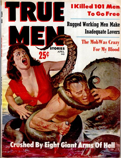 True Men Stories Vol.3 No.4 (April 1959)